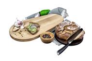 Chopping board Avocado ash + walnut