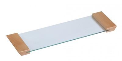 Podnos skleněný - tvrzené sklo 130x460x22