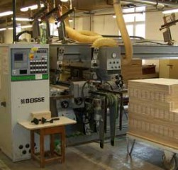 Automatic edge bending machine BIESSE