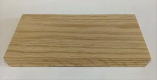 Dubové prkénko 31,5x17x2 cm se zkosenými hranami