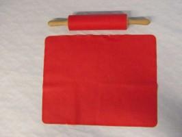 Válek na těsto 6,5 cm se silikonovým návlekem