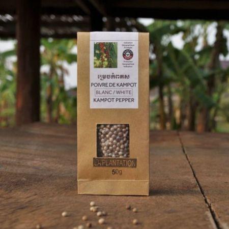 Kampotský pepř bílý