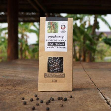 Kampotský pepř černý
